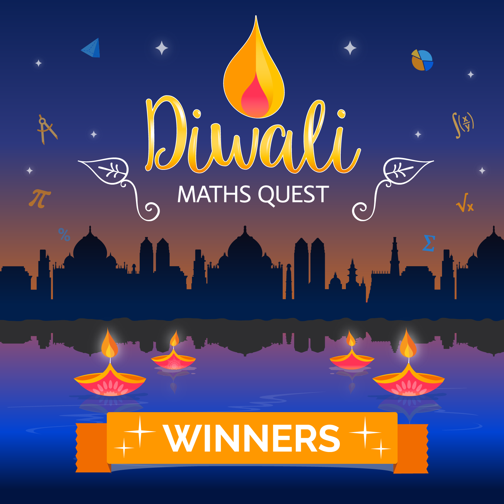 Diwali Maths Quest - The Winners!