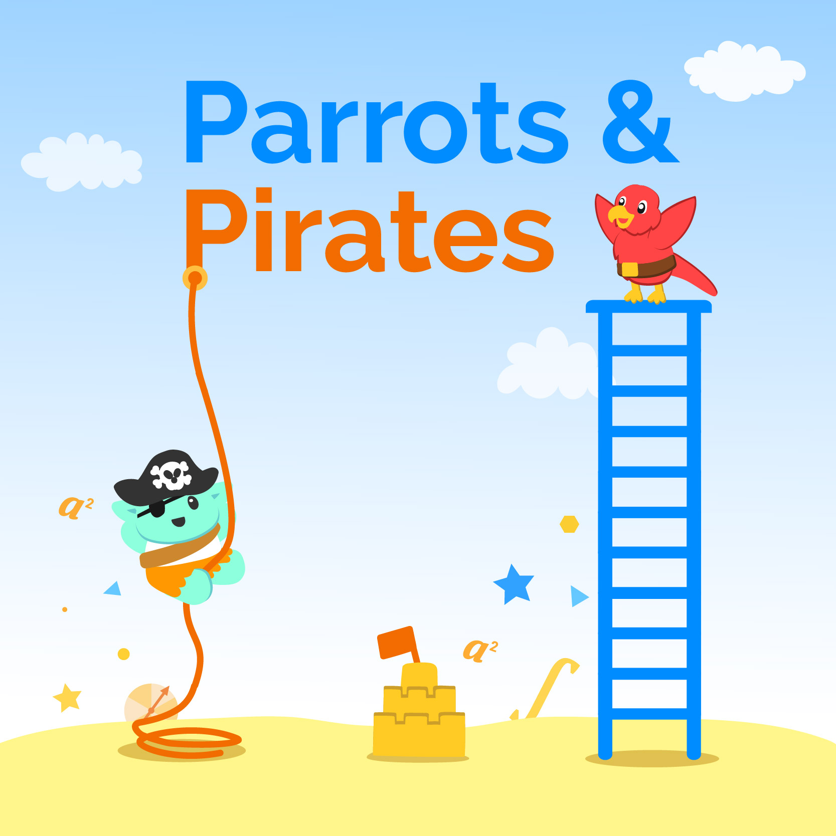 Parrots and Pirates – Learning Mathematics Through Games