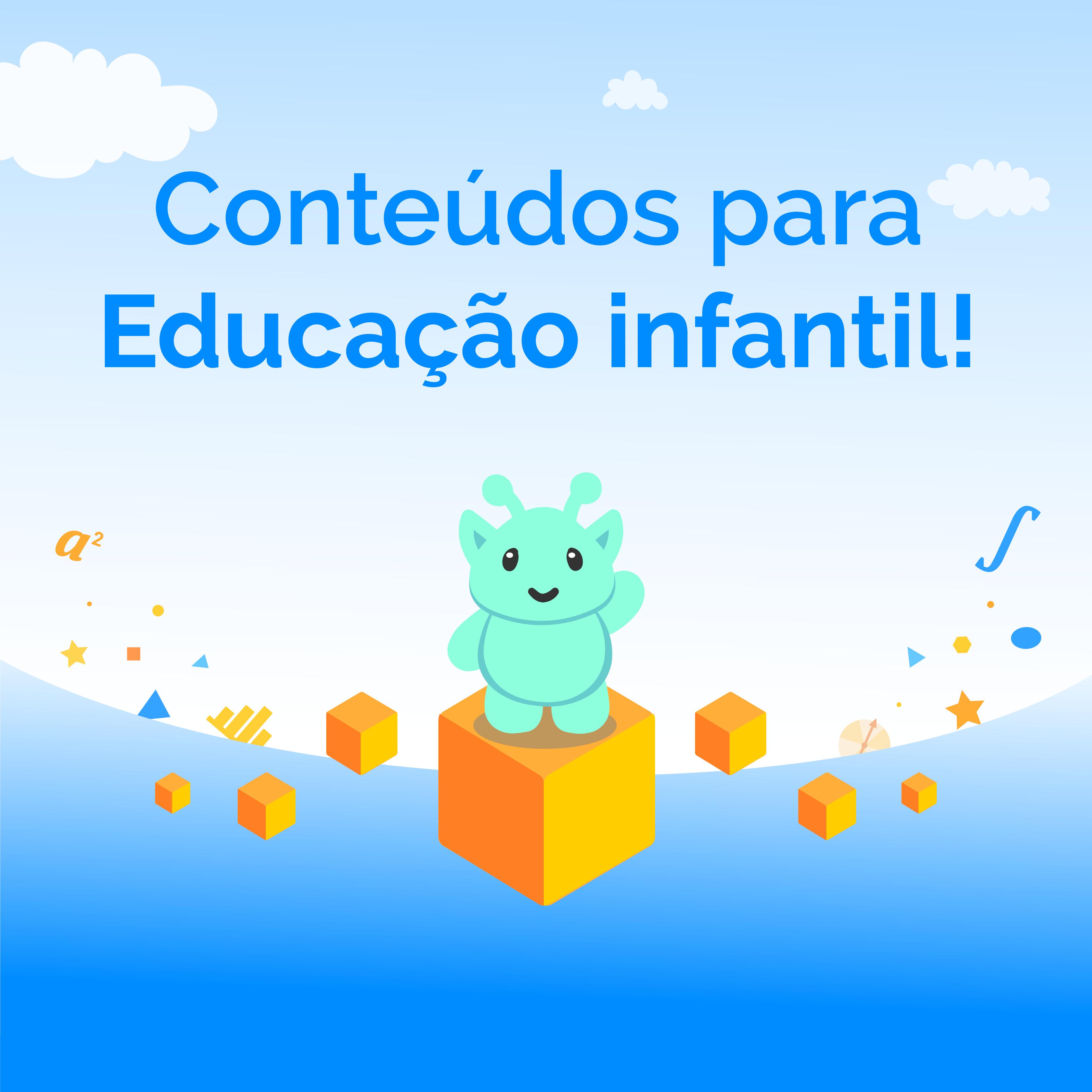 Um mergulho nos novos conteúdos para a Educação Infantil!