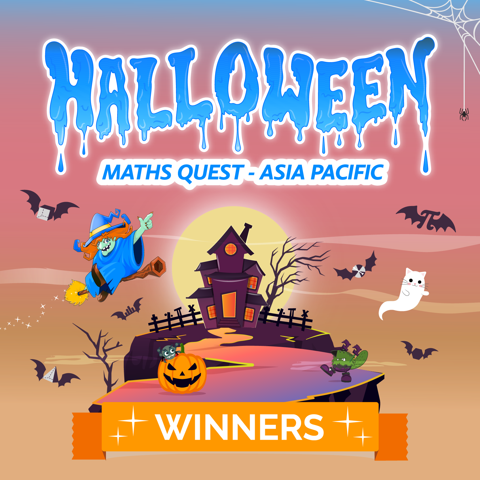 Halloween Maths Quest Asia Pacific - The Magnificent Mathematicians!