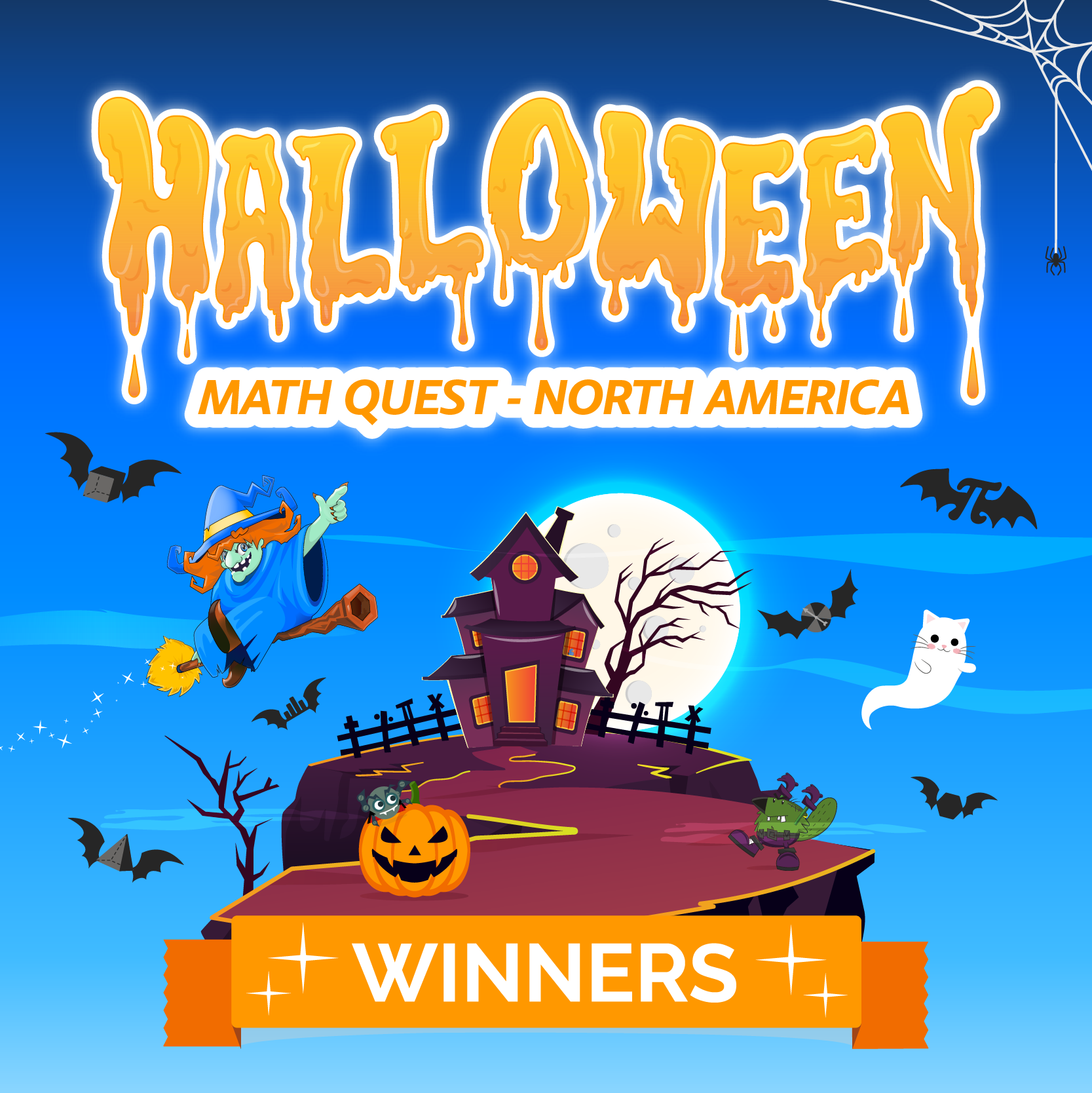 Halloween Math Quest North America: The Enchanting Champions!