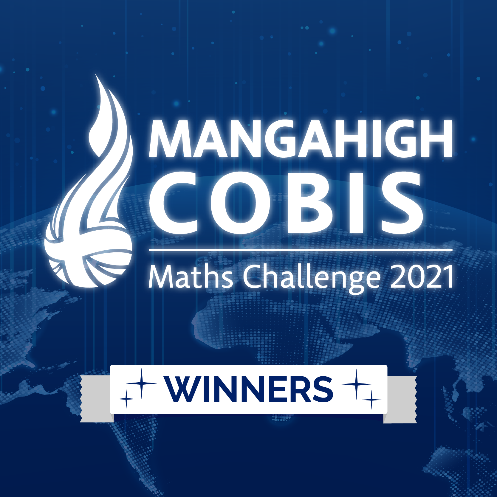 The Champions of the Mangahigh COBIS Maths Challenge!