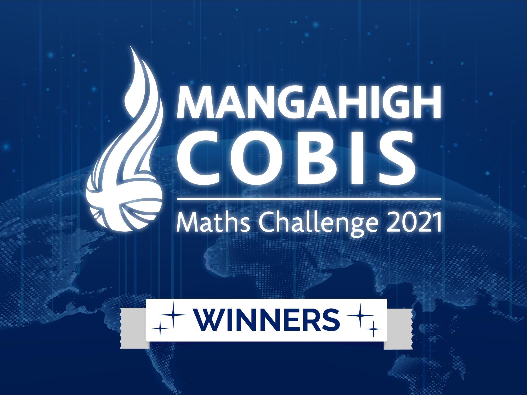 The Champions of the Mangahigh COBIS Maths Challenge!